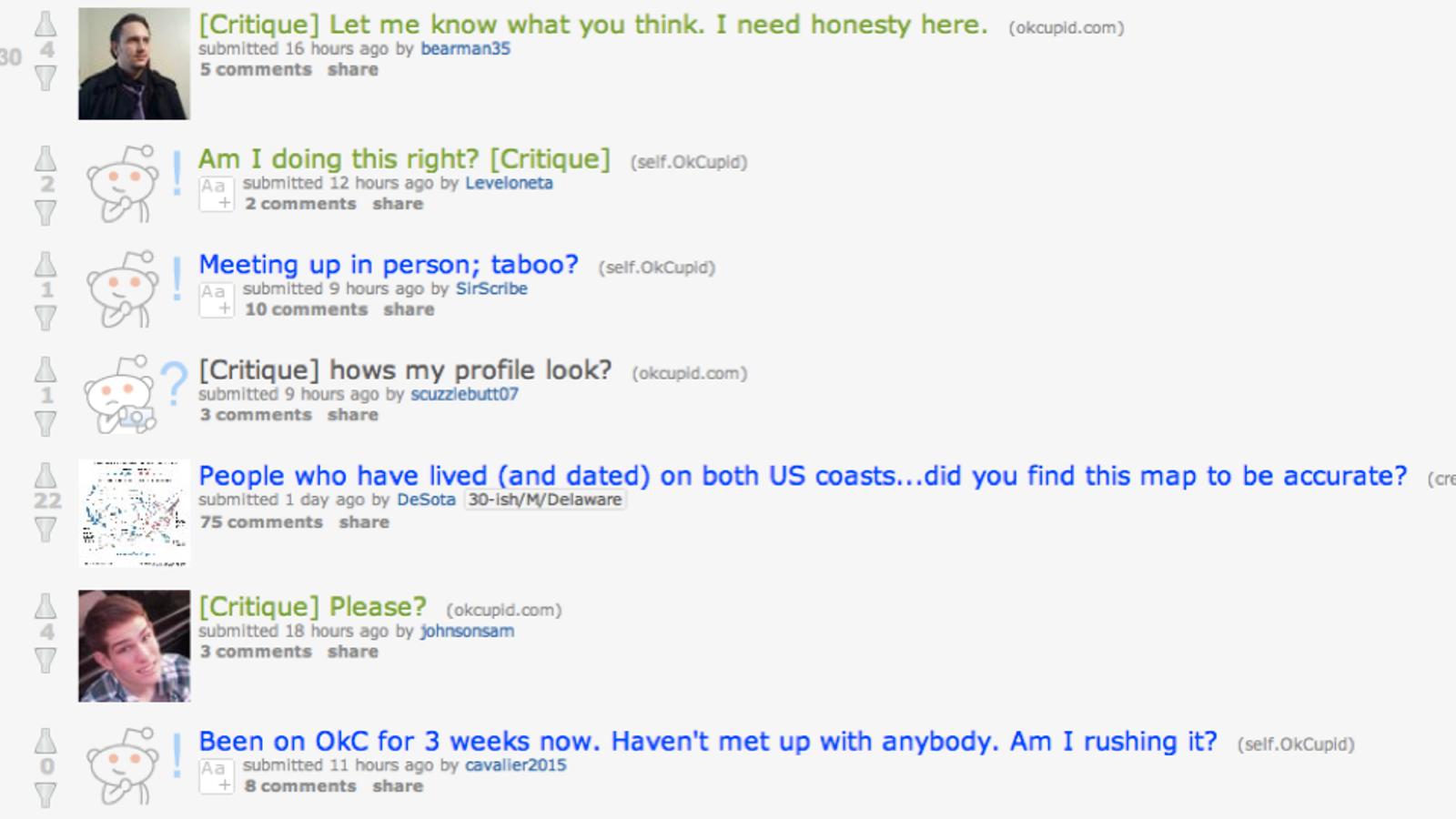 Online-Dating-Profil Beispiele okcupid