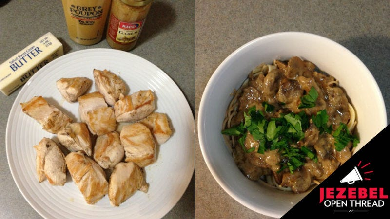 Forget The Chicken And Just Make Mushrooms With Mustard Marsala
