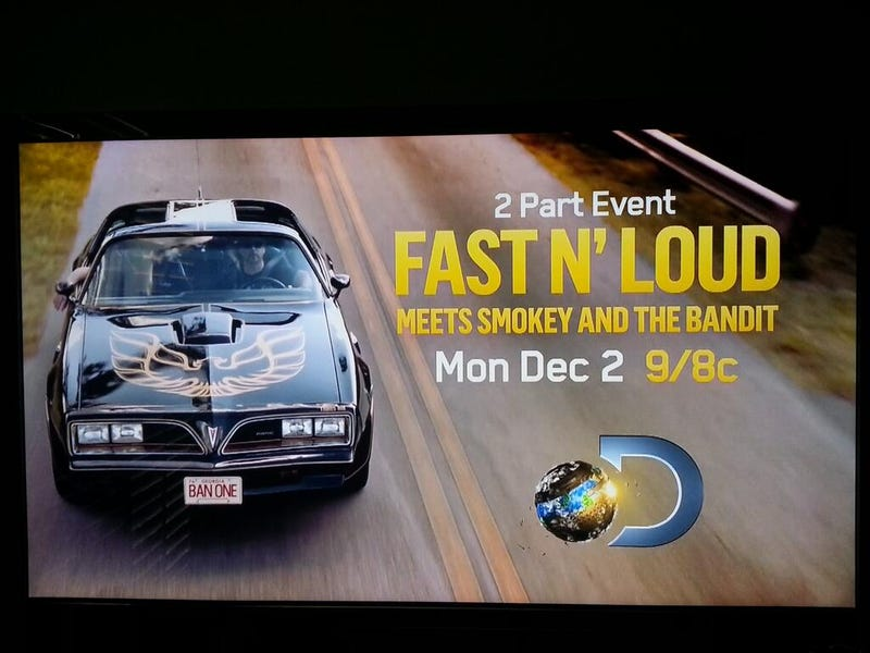 Illustration for article titled GUYS. BANDIT. FAST N LOUD. 77 TRANS AM. NAOW.