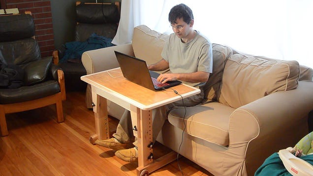 Build A Laptop Table For Sitting At The Couch That