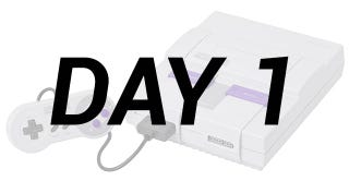 Illustration for article titled Kid Gets Super Nintendo On Launch Day, Is Pleased