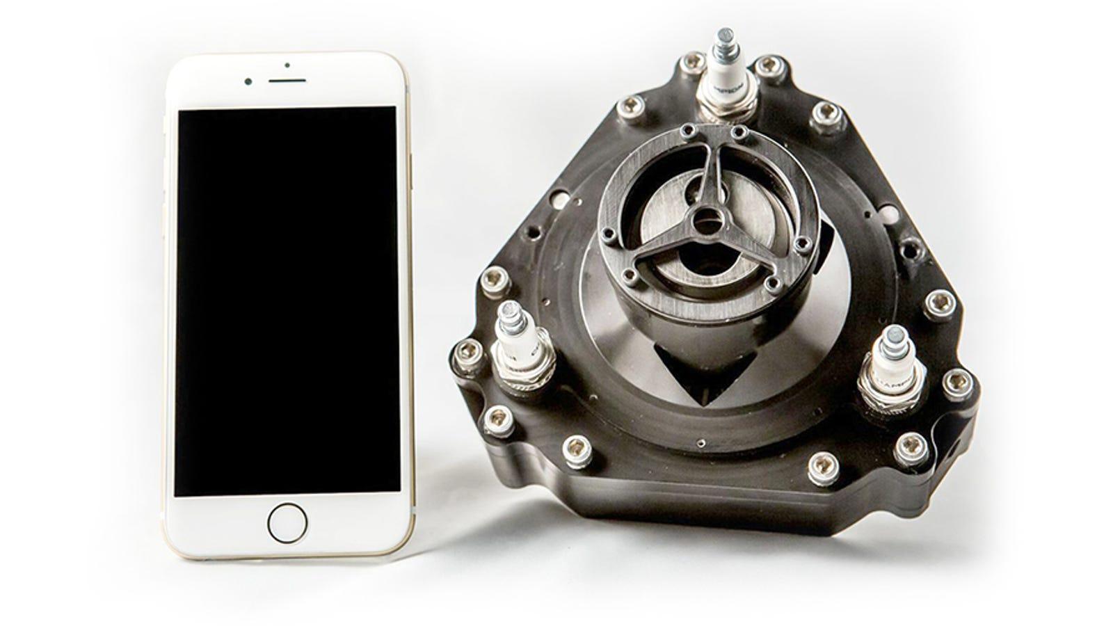 Este motor de combustión ruso del tamaño de un iPhone tiene 5 CV y puede impulsar un kart
