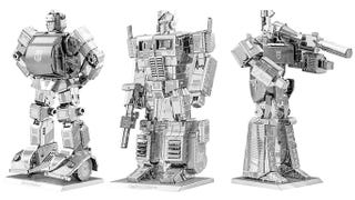 Illustration for article titled Transform a Thin Metal Sheet Into Optimus Prime, Bumblebee, or Megatron