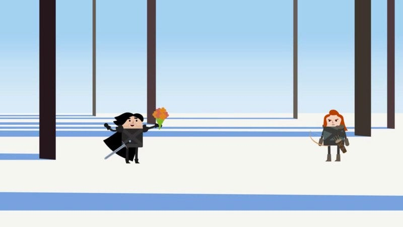 Illustration for article titled Animated shorts reveal what Game Of Thrones' Jon Snow really knows
