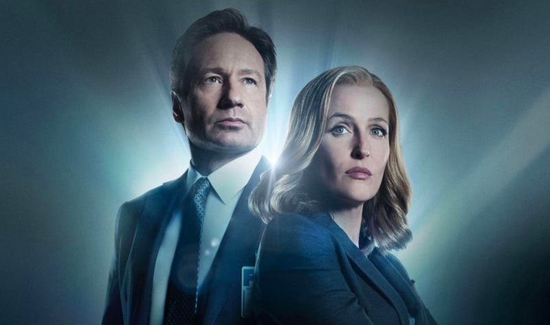 David Duchovny and Gillian Anderson return to their iconic roles for a new audiobook. Image: Fox