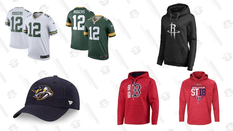 Illustration for article titled While You're Still Delusional About Your Team's Chances, Grab 25% Off Apparel At Fans Edge