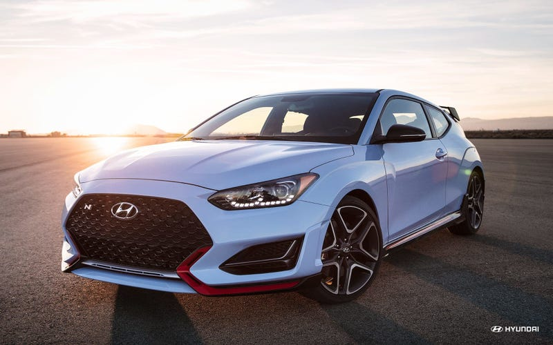 Illustration for article titled The 2019 Hyundai Veloster N starts at $27,785