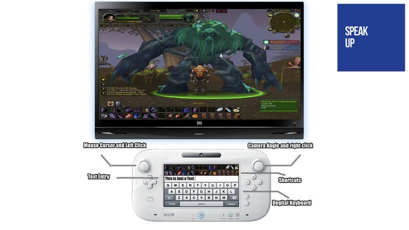 Illustration for article titled Why Yes, the Wii U Would Be Perfect for a Console-Based MMO