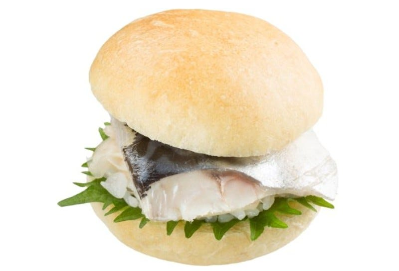 Illustration for article titled Japan Now Has Sushi Burgers
