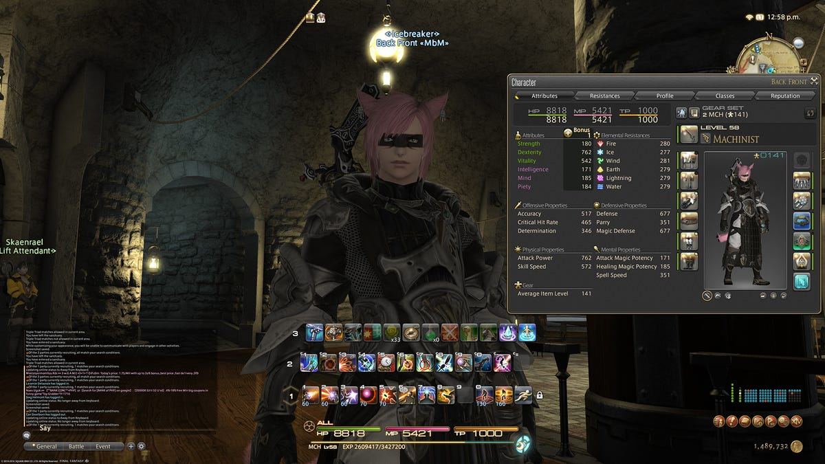 Final Fantasy XIV Finally Gets An Optimize Equipment Button