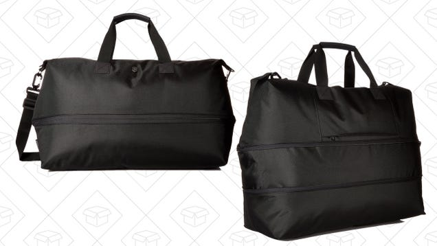 Grow Your Savings With This Expandable Weekender Bag That's Over 50% Off