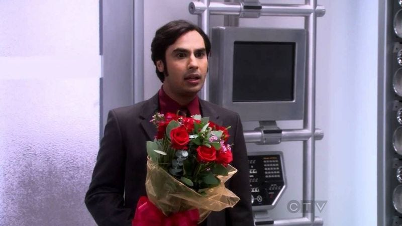 Kunal Nayyar in The Big Bang Theory