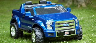 Illustration for article titled The Ford F-150 Power Wheels Truck Is For Rugged Little Boys And Girls