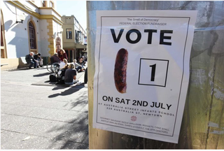 Illustration for article titled the humble democracy sausage