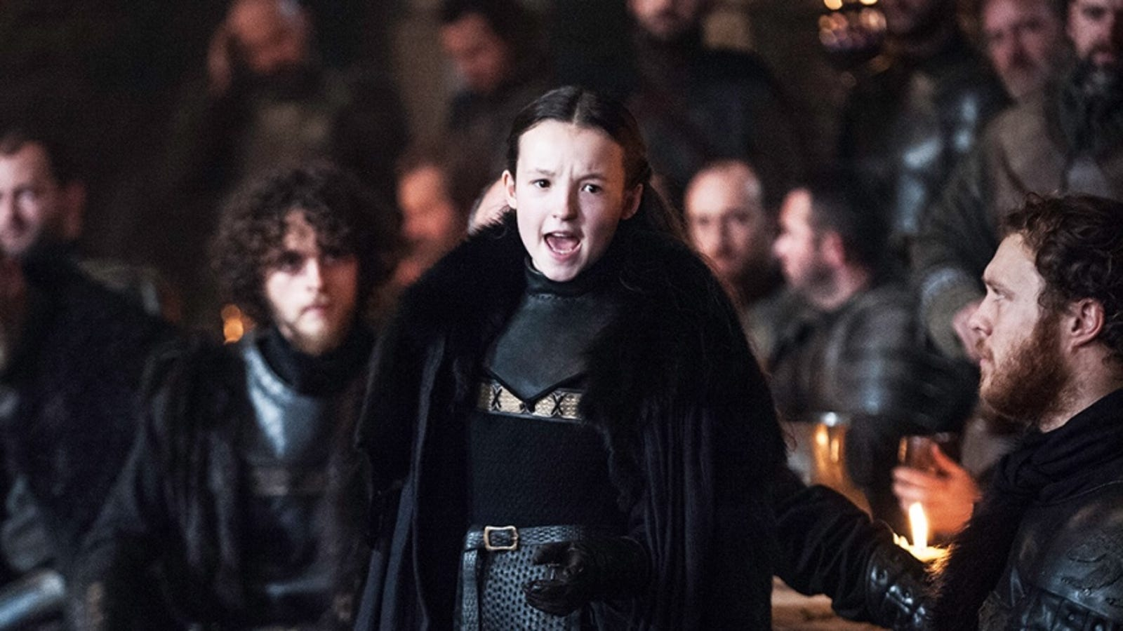 f26f65c3 Jon Snow Needs to Die Again So Lyanna Mormont Can Become President