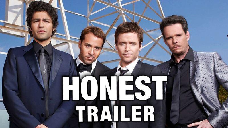 Illustration for article titled The honest trailer for Entourage celebrates bongs and brunch