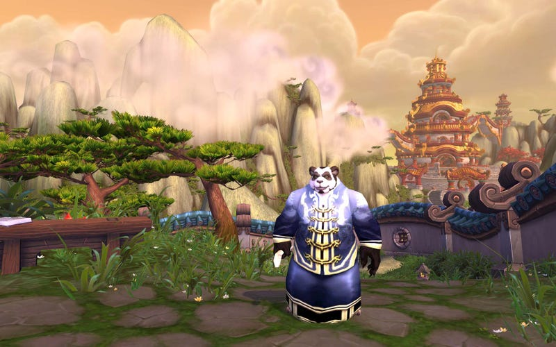 Illustration for article titled The First Fluffy Screens of World of Warcraft's Mists of Pandaria