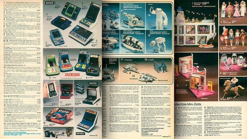 this 1982 jcpenney catalog is a jackpot of 80s toys and electronics