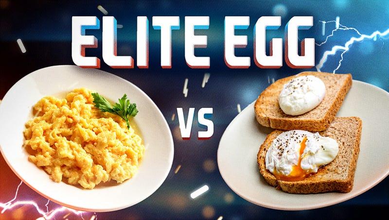 Illustration for article titled Elite Egg, final battle: Scrambled vs. poached
