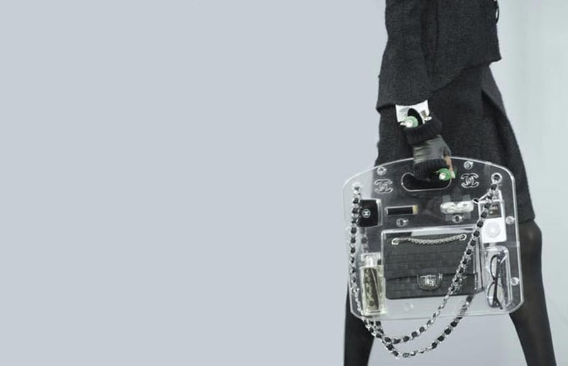 Illustration for article titled The Future Beckons, And It's a Perspex Chanel Briefcase