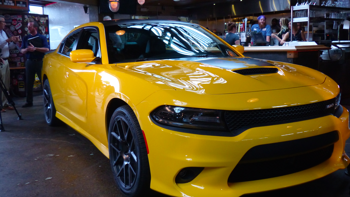 The 2017 Dodge Charger Daytona And Challenger T A Are As Subtle Prison Riot