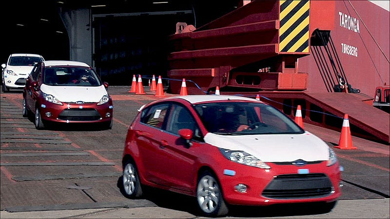 Illustration for article titled Ford Fiestas Arrive From Europe, Didorosi Wants One In Pink