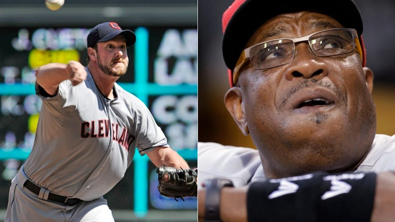 Illustration for article titled Derek Lowe And Dusty Baker Are Having The Greatest Feud Ever