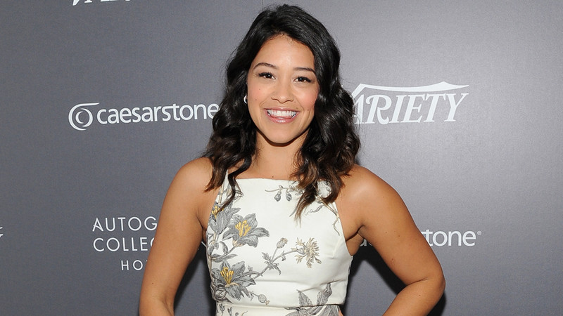 Illustration for article titled Genius Gina Rodriguez Once Faked a Pregnancy To Skip a Chipotle Line