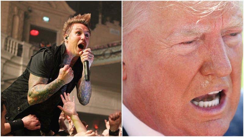 Illustration for article titled Papa Roach thinks Donald Trump's new catchphrase could make a good Papa Roach song