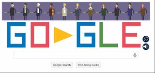 Illustration for article titled Google celebrates Doctor Who's 50th!