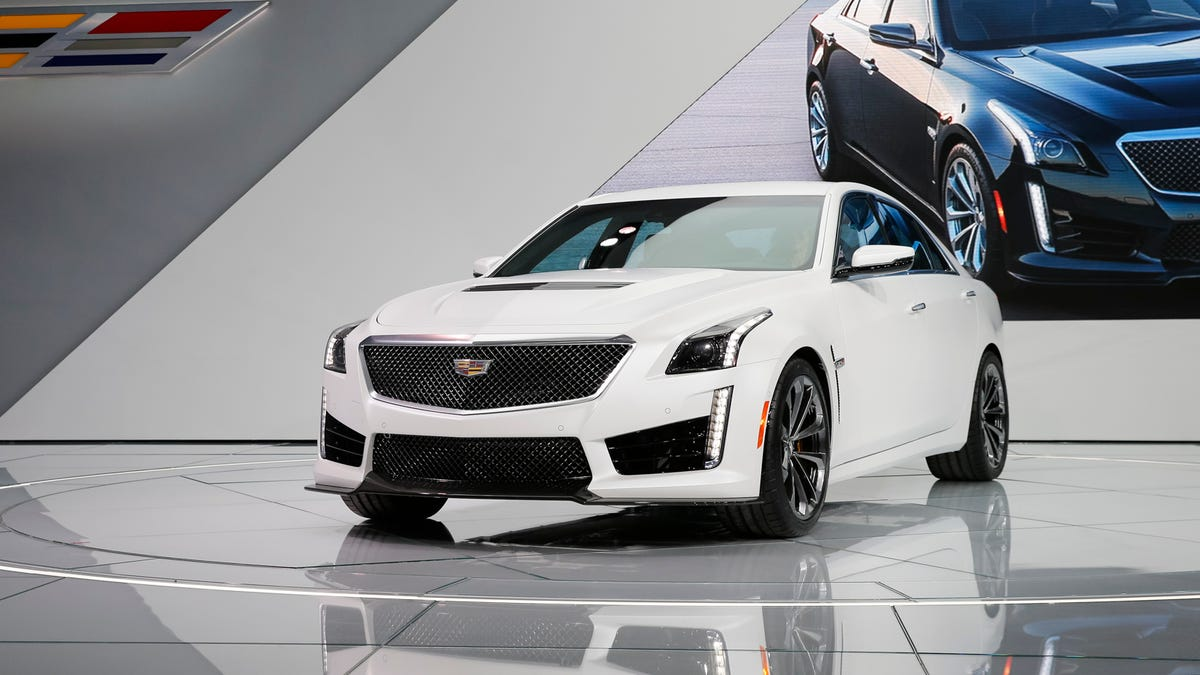 2016 Cadillac CTS-V: A 640 Horse Missile Disguised As A Cly Sedan