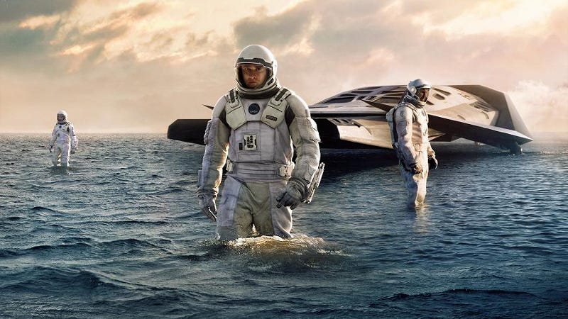 Is Proxima b like the water world featured in Interstellar?