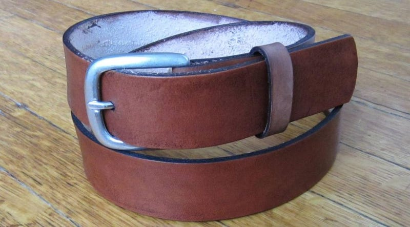 Make Your Own $100 Belt for Less Than Half the Price
