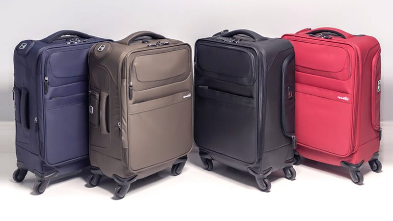 c9e9d124d1 Illustration for article titled Pick Up The Genius Pack Carry-On Spinner  Suitcase For 50