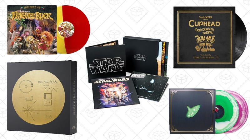 Up to 60% off vinyl records | ThinkGeek