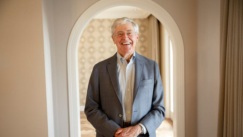 Charles Koch (Photo: Getty Images for The Washington Post, Patrick T. Fallon))