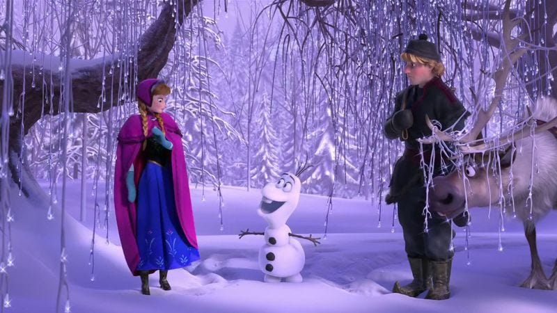 Illustration for article titled Weekend Box Office: People go in droves to see Frozen, possibly ironically