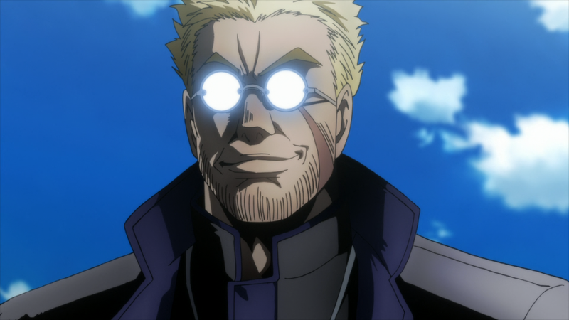 My answer to the question of the week: Alexander Anderson from Hellsing