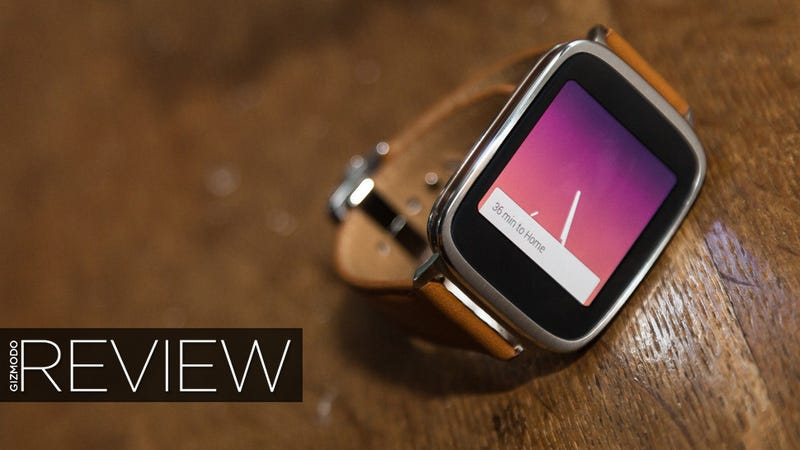 Illustration for article titled ASUS ZenWatch Review: The First Smartwatch I'd Wear As a Watch