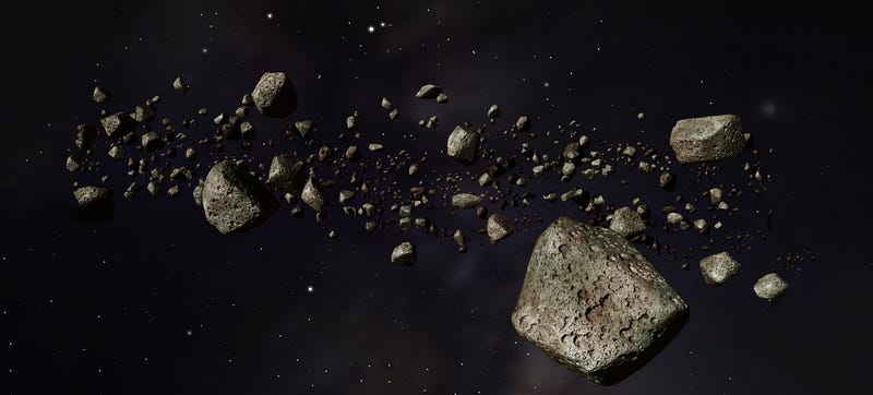 asteroid in space-#45