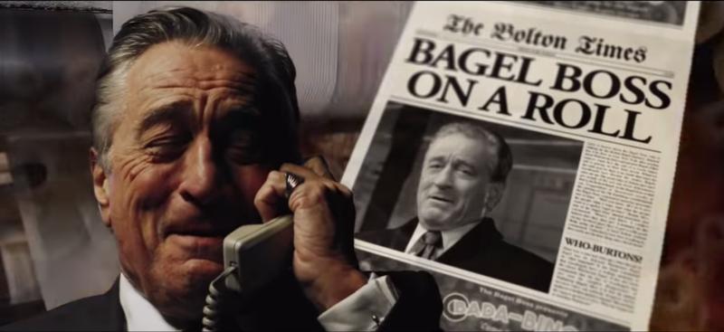 Illustration for article titled Ladies and gentlemen: Robert De Niro, bagel salesman
