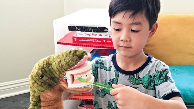 Here's a Cool Way to Teach Kids About Dental Hygiene