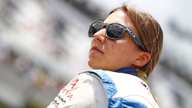 Illustration for article titled Simona de Silvestro Will Be Back In An IndyCar For The Indianapolis 500