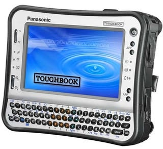 Illustration for article titled Panasonic's Atom-Based Toughbook UMPC Is Mini Hercules