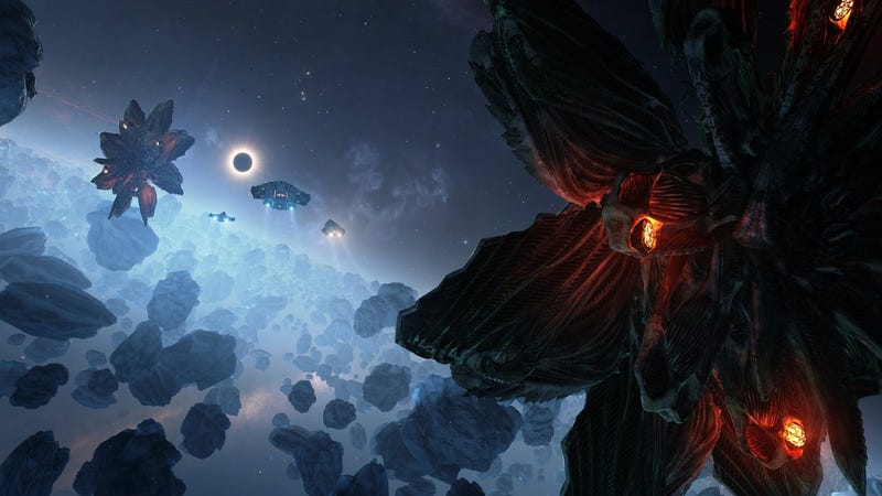 Illustration for article titled Elite: Dangerous Player Creates His Own Way To 'Talk' To Aliens