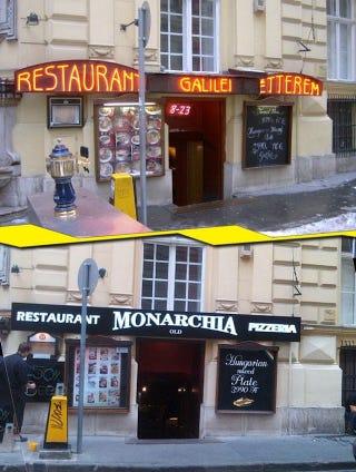 Illustration for article titled Budapest legrosszabb étterme új nevet kapott