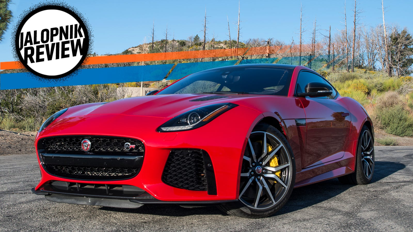 The 2017 Jaguar F Type Svr Is A Mean Masterpiece