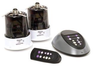 Illustration for article titled Klipsch LightSpeakers Screw Into Light Bulb Sockets, Play Music Wirelessly