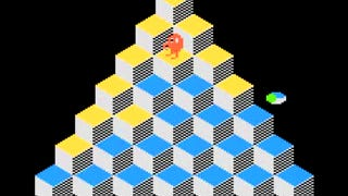 Illustration for article titled Holy @!#?@! Man Spends 68.5 Hours Playing Single Game of Q*Bert