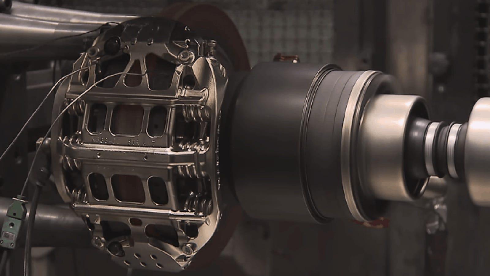 Cómo se prueban los frenos de los autos de la Fórmula 1